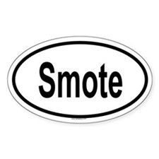 SMOTE Oval Decal