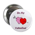 "My Valentine 2.25"" Button (100 pack)"