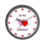 My Valentine Wall Clock