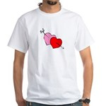 My Valentine White T-Shirt