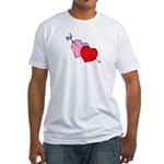 My Valentine Fitted T-Shirt