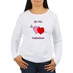 My Valentine Women's Long Sleeve T-Shirt