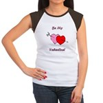 My Valentine Women's Cap Sleeve T-Shirt