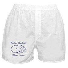 Dillon Panthers - White Boxer Shorts