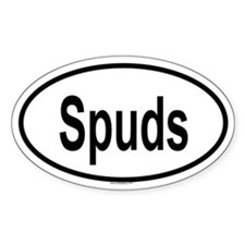 SPUDS Oval Decal