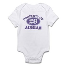 PROPERTY OF (28) ADRIAN Infant Bodysuit