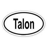 TALON Oval Decal