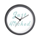 Just Hitched Wall Clock