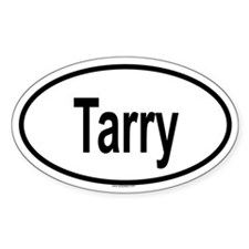 TARRY Oval Decal