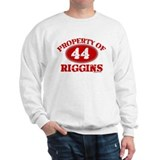 PROPERTY OF (44) RIGGINS Sweatshirt