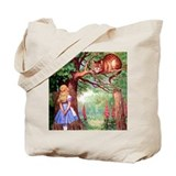 ALICE &amp; THE CHESHIRE CAT Tote Bag