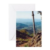Skyline Drive Valley View Greeting Card