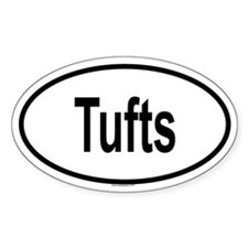 TUFTS Oval Decal