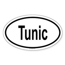 TUNIC Oval Decal