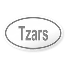 TZARS Oval Decal
