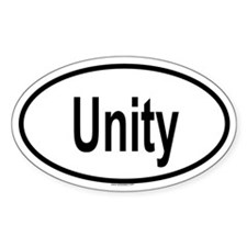 UNITY Oval Decal