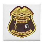 Stockbridge Munsee PD Tile Coaster