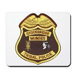 Stockbridge Munsee PD Mousepad