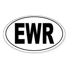 Newark International (EWR) Oval Decal
