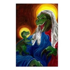 Raptor Jesus Postcards (Package of 8)