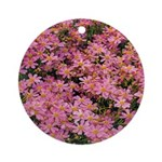 Coreopsis Rose Ornament (Round)