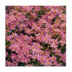 Coreopsis Rose Tile Coaster