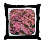 Coreopsis Rose Throw Pillow