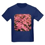 Coreopsis Rose Kids Dark T-Shirt