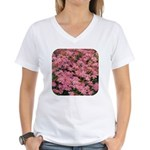 Coreopsis Rose Women's V-Neck T-Shirt