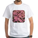 Coreopsis Rose White T-Shirt