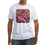 Coreopsis Rose Fitted T-Shirt