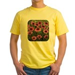 Echinacea Magnus Yellow T-Shirt