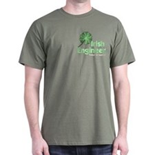 Irish Engineer Pocket Image T-Shirt