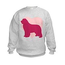 Newfoundland Valentine's Day Sweatshirt