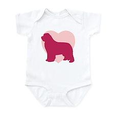 Newfoundland Valentine's Day Infant Bodysuit
