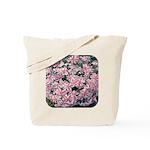 Phlox Candy Stripe Tote Bag