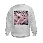 Phlox Candy Stripe Kids Sweatshirt