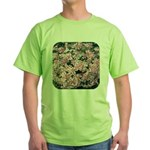 Phlox Candy Stripe Green T-Shirt