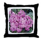 Phlox Lilac Throw Pillow