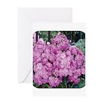 Phlox Lilac Greeting Card