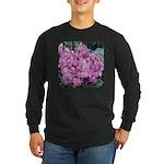 Phlox Lilac Long Sleeve Dark T-Shirt