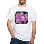 Phlox Lilac White T-Shirt