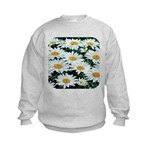Shasta Daisies Kids Sweatshirt