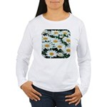 Shasta Daisies Women's Long Sleeve T-Shirt