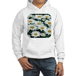 Shasta Daisies Hooded Sweatshirt