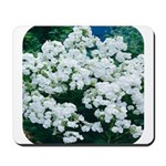 Phlox White Mousepad