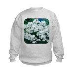 Phlox White Kids Sweatshirt