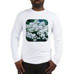 Phlox White Long Sleeve T-Shirt