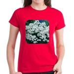 Phlox White Women's Dark T-Shirt