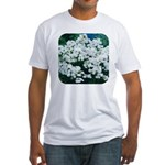 Phlox White Fitted T-Shirt